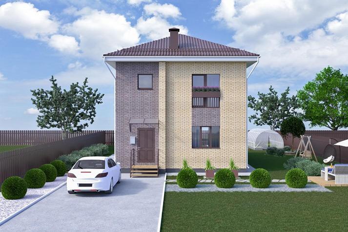 Площадь и расположение дома